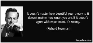 Richard Feynman quote
