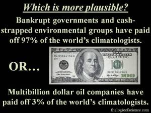 global warming money conspiracy theory oil companies