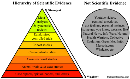 Image result for hierarchy of study designs