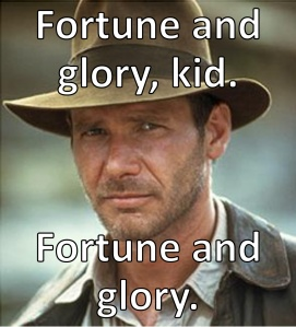 indiana jones fortune and glory kid